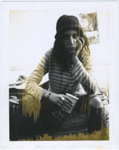 Patti Smith in the Janet Hamill Archive