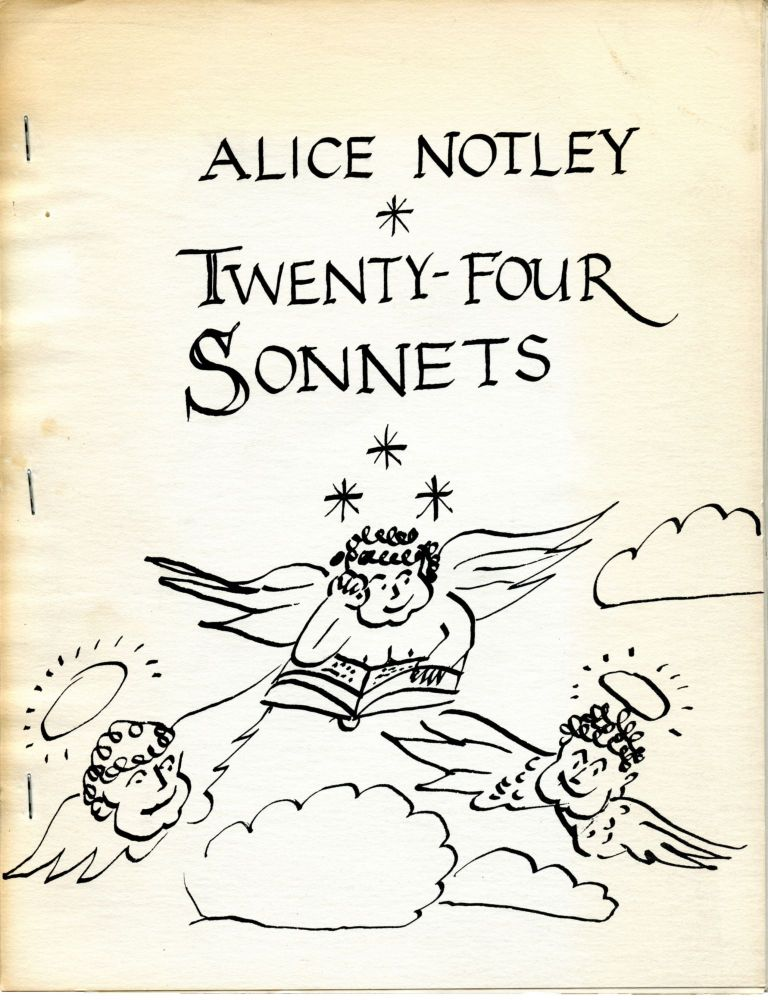 165 Meeting House Lane. Alice Notley. C Press. 1971.