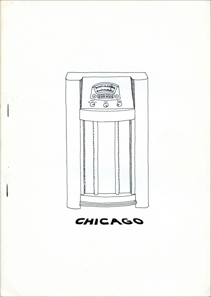 Chicago, European Edition, no. 2. Feb. 1974. Alice Notley.