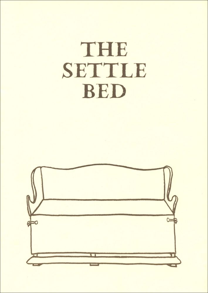 The Settle Bed. Seamus Heaney. Peter Fallon. 1989.