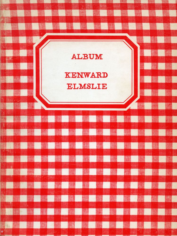 Album. Kenward Elmslie. Kulchur Press. 1969.