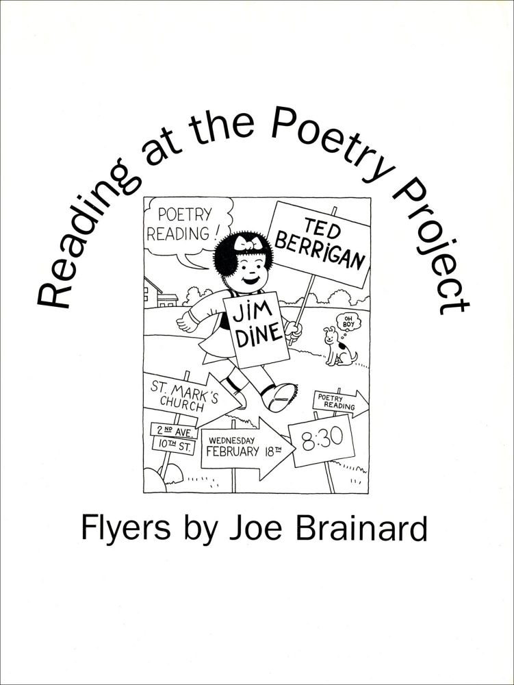 Reading at the Poetry Project. Joe Brainard, Ed Friedman, Bill Berkson. The Poetry Project at St. Marks Church. 1997.