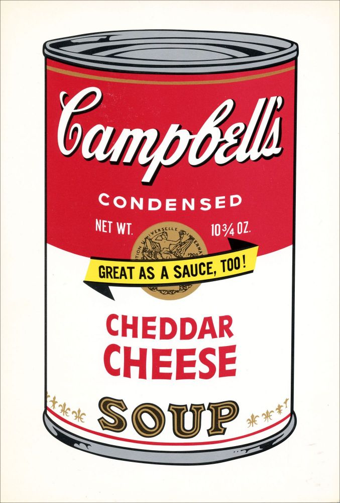 [Campbell's Soup Can.]. Andy Warhol. Castelli Whitney Graphics. [c.1969].