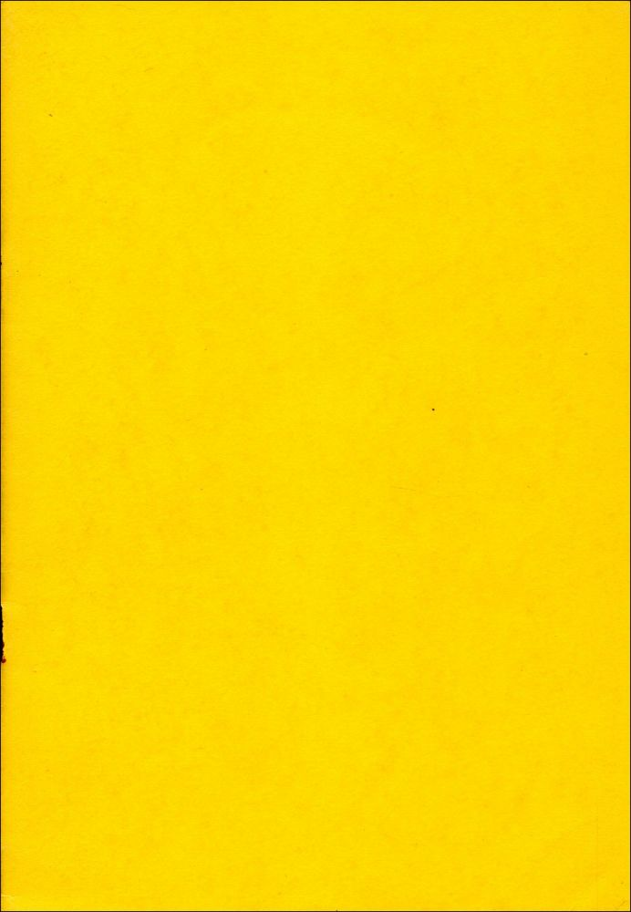 The No Book. Tom Clark. An Ant's Forefoot Eleventh Finger Voiceprint Edition. 1971.