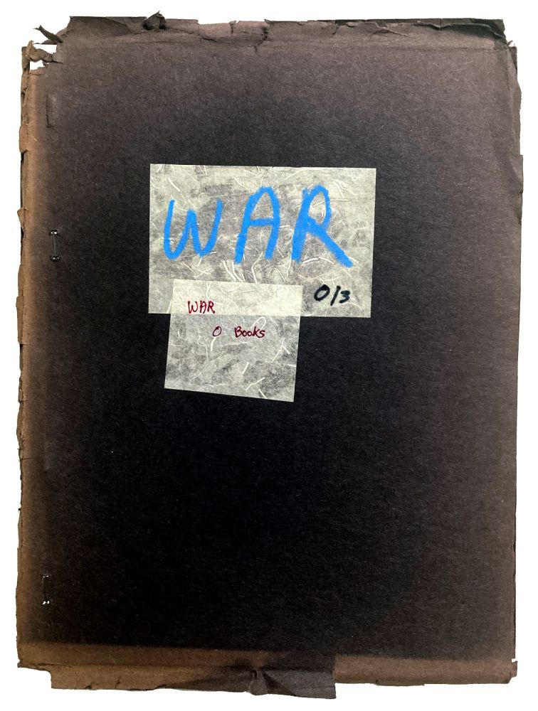 War O/3. Leslie Scalapino, Norma Cole, Laura Moriarty, Alan Davies, Jerry Estrin, Fanny Howe. O Books. n.d.