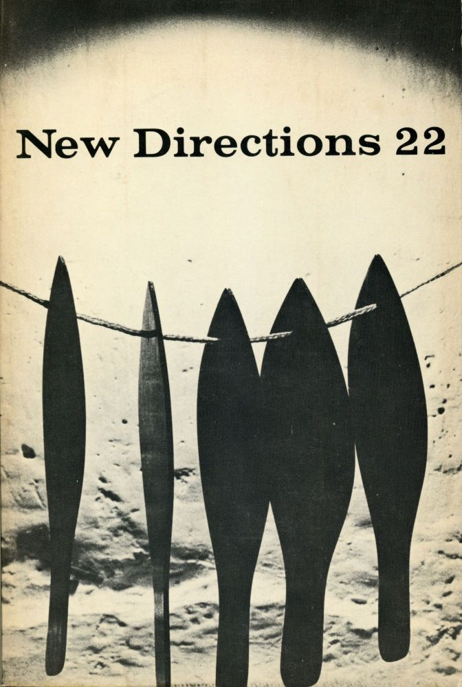 New Directions 22. Ian Hamilton Finlay, James Laughlin. New Directions. 1970.