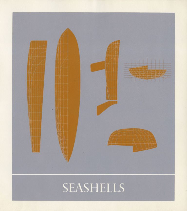 Seashells. Ian Hamilton Finlay, Ian Proctor, Ron Costley. Wild Hawthorn Press. 1971.