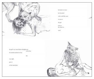 The Animal is in the World Like Water in Water. Leslie Scalapino, Kiki Smith. Granary Books. 2010.