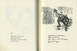 Drawn & Quartered. Robert Creeley, Archie Rand. Granary Books. 2001.
